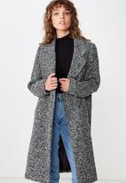Cotton On - New mid length coat  - grey