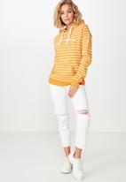 Cotton On - Delevingne graphic hoodie  - orange