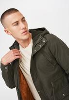 Cotton On - Nu military jacket - khaki