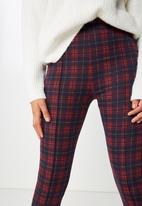 Cotton On - Dakota detail leggings  - red