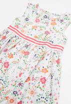 POP CANDY - Fit and flare small flower print dress - multi