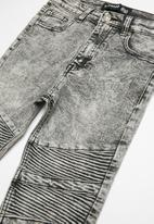Twin Clothing - Biker denim jeans - grey