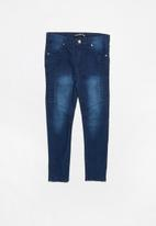 Twin Clothing - Biker denim jeans - blue