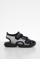 POP CANDY - Mesh cage sandal - grey