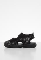 POP CANDY - Mesh cage sandal - black