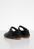 POP CANDY - Velcro strap pump - black