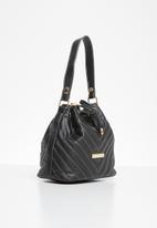 BLACKCHERRY - Bucket bag - black