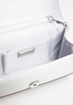 ALDO - Imnaha clutch bag -  silver