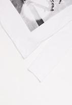 MINOTI - Long sleeve top - white