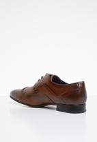 Gino Paoli - Medallion toe oxford shoes - brown