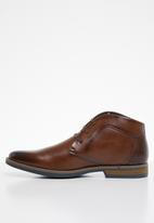 Gino Paoli - Kaen lace-up boot - brown