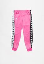KAPPA - 222 Banda wrastoria slim - black & pink