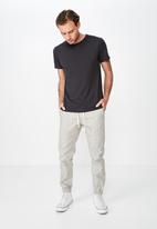 Cotton On - Drake cuffed pants - beige