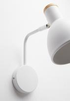 Sixth Floor - Sia wall lamp - white