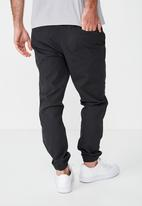 Cotton On - Drake cuffed pants - black