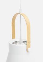 Sixth Floor - Nordic pendant small - white