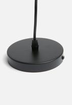 Sixth Floor - Nordic pendant small - black