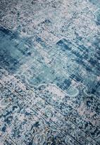 Fotakis - Option rug - antique teal