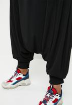 Plus-Fab - Harem pants - black
