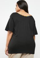 Plus-Fab - Africa T-shirt - black