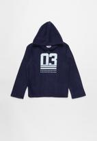 POP CANDY - Hooded top - navy