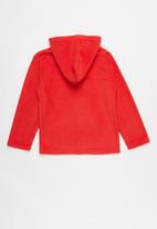 POP CANDY - Hooded top - red