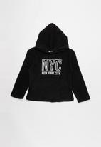 POP CANDY - Hooded top - black