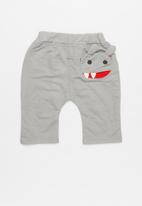 POP CANDY - Basic joggers with side character - grey