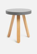 Sixth Floor - Side table - grey