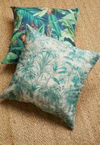 Grey Gardens - Oasis cushion cover - teal