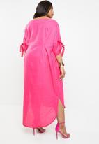 Plus-Fab - Kenetswe dress - pink