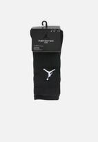 Nike - Jordan jumpman 3 pack crew socks - black