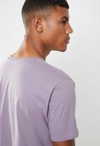 Brave Soul - Harrele longer length tee - purple