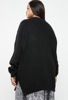 STYLE REPUBLIC PLUS - Choker style jersey - black
