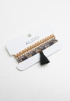 ALDO - Reabryll bracelets - brown & gold