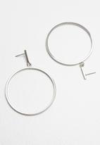 ALDO - Trierwen earrings - silver