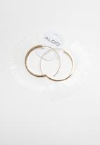 ALDO - Brudda earrings - gold