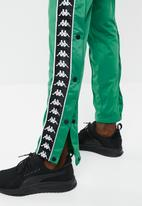 KAPPA - Banda Astoria snap pant - green