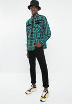 Diesel  - S-takeshi long sleeve check shirt - multi