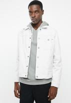 Only & Sons - Paw trucker jacket - grey