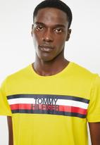 Tommy Hilfiger - Tommy logo tee - yellow