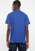 Tommy Hilfiger - Tjm collegiate logo tee - blue