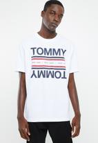 Tommy Hilfiger - Tjm essential reflection tee - white