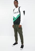 Tommy Hilfiger - Oversized rib insert sweatshirt - multi