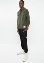 Tommy Hilfiger - Tjm twill overshirt - khaki