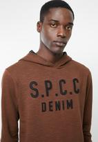 S.P.C.C. - The viking hoodie - rust