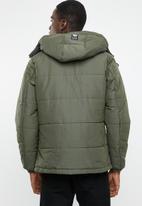 S.P.C.C. - The peak jacket - khaki green