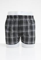 STYLE REPUBLIC - Boxers shorts - black & grey