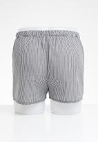STYLE REPUBLIC - Boxers shorts - black & white