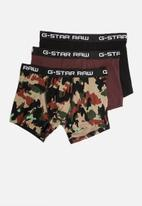 G-Star RAW - 3 pack classic trunks - multi